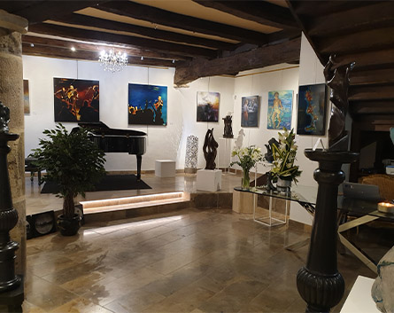 interieur Gallerie Passion d'Art