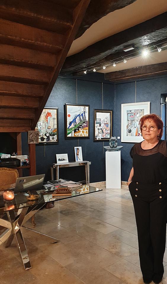 Dominique SEIZ dans la galerie