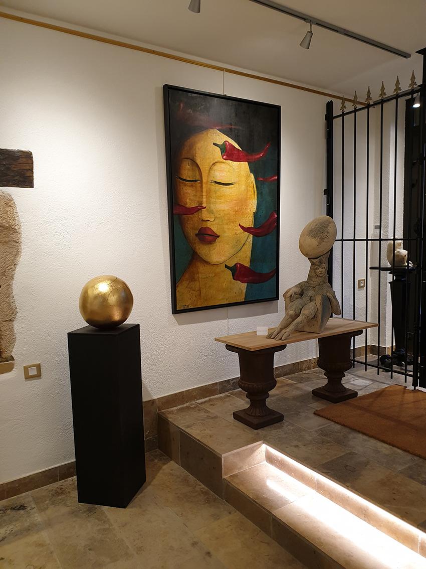 oeuvres interieur galerie passion d'art