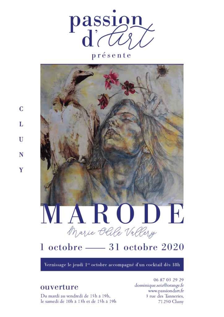 EXPOSITION MARODE Marie Odile Vallery