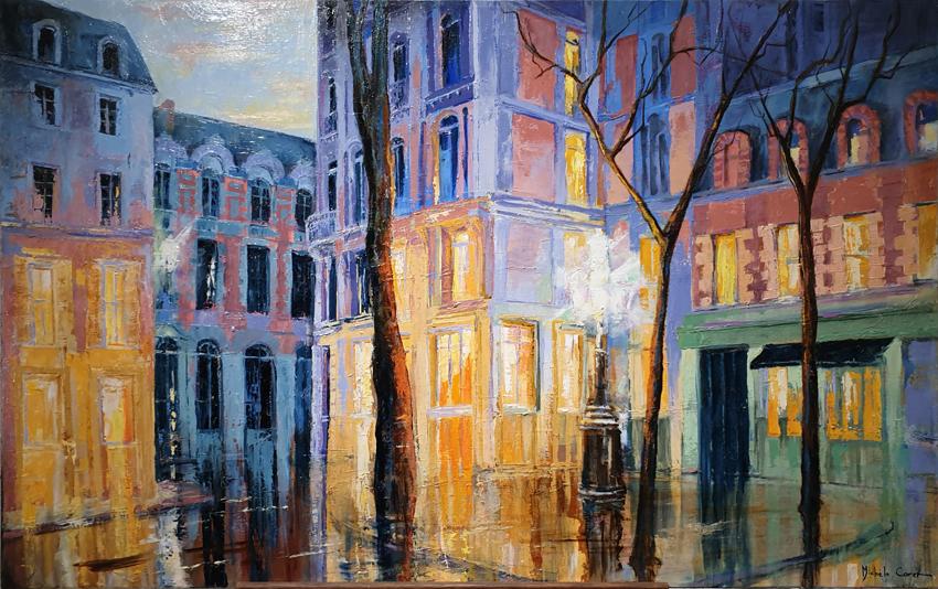 Il pleut sur Paris 2100€