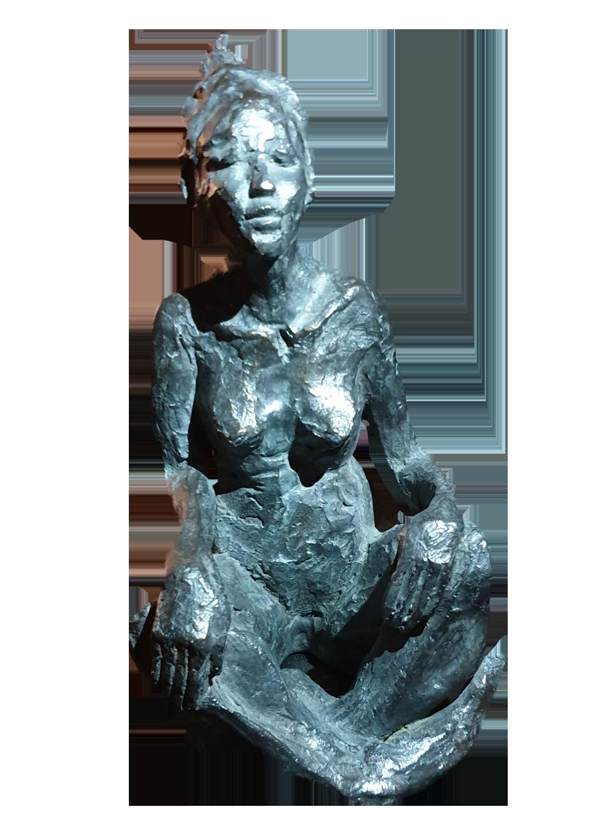 ''Zénitude'' Bronze sur socle 1800€