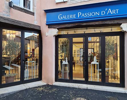vitrine galerie passion d'art 2021