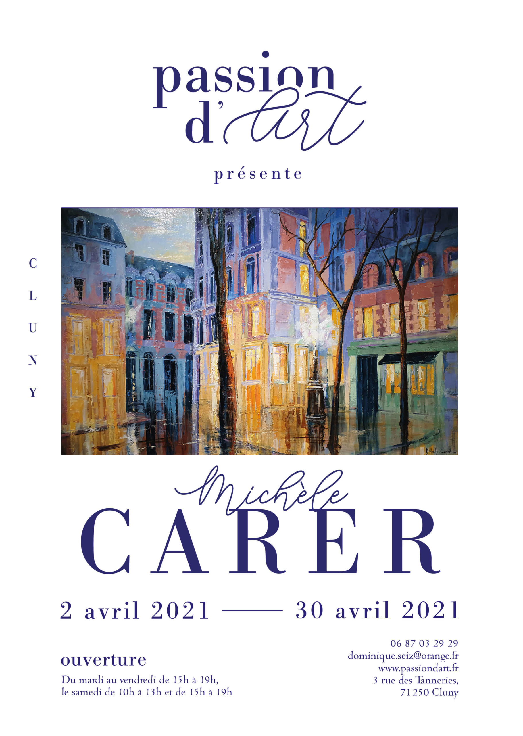 EXPOSITION MiCHELE CARER - AVRIL 2021